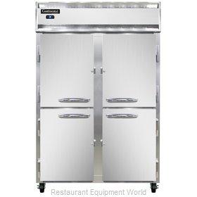 Continental Refrigerator 2R-SS-HD Refrigerator, Reach-In