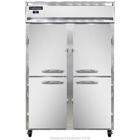 Continental Refrigerator 2R-SS-PT-HD Refrigerator, Pass-Thru