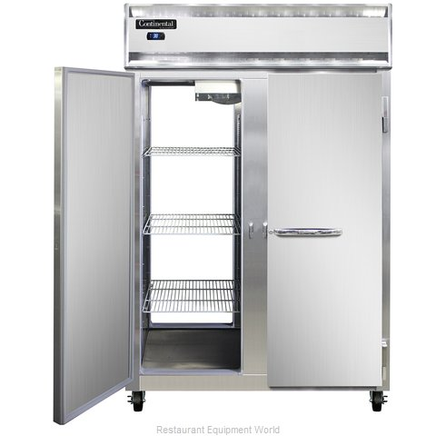 Continental Refrigerator 2R-SS-PT Refrigerator, Pass-Thru