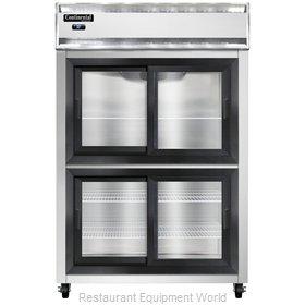 Continental Refrigerator 2R-SS-SGD-HD Refrigerator, Reach-In