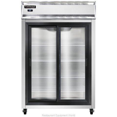 Continental Refrigerator 2R-SS-SGD Refrigerator, Reach-In