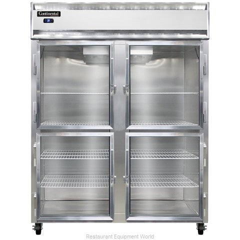 Continental Refrigerator 2RE-GD-HD Refrigerator, Reach-In