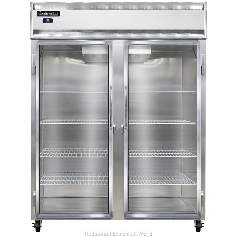 Continental Refrigerator 2RE-GD Refrigerator, Reach-In