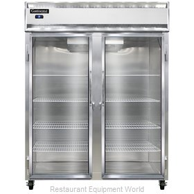 Continental Refrigerator 2RE-GD Refrigerator, Reach-In