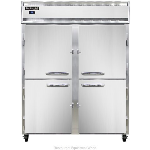 Continental Refrigerator 2RE-SA-PT-HD Refrigerator, Pass-Thru