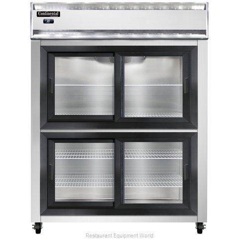 Continental Refrigerator 2RE-SGD-HD Refrigerator, Reach-In