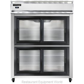 Continental Refrigerator 2RE-SGD-HD Refrigerator, Reach-In