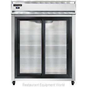 Continental Refrigerator 2RE-SGD Refrigerator, Reach-In