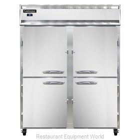 Continental Refrigerator 2RE-SS-HD Refrigerator, Reach-In