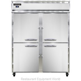 Continental Refrigerator 2RE-SS-PT-HD Refrigerator, Pass-Thru