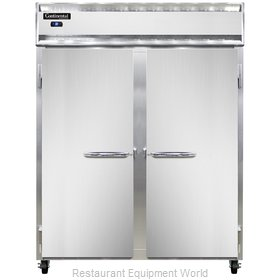 Continental Refrigerator 2RE-SS-PT Refrigerator, Pass-Thru