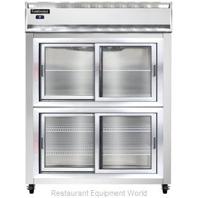 Continental Refrigerator 2RE-SS-SGD-HD Refrigerator, Reach-In