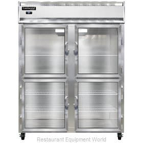Continental Refrigerator 2RENGDHD Refrigerator, Reach-In