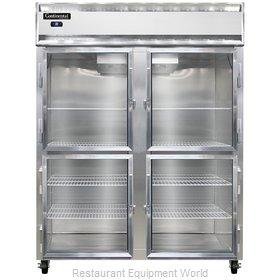 Continental Refrigerator 2RES-GD-HD Refrigerator, Reach-In