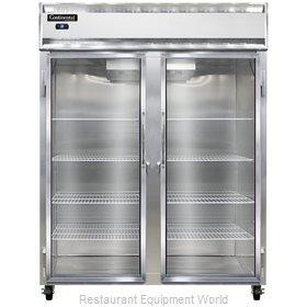 Continental Refrigerator 2RES-GD Refrigerator, Reach-In