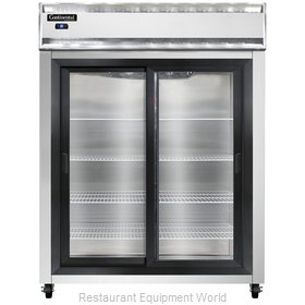 Continental Refrigerator 2RES-SGD Refrigerator, Reach-In