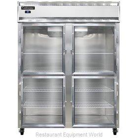 Continental Refrigerator 2RES-SS-GD-HD Refrigerator, Reach-In