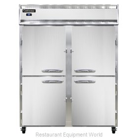 Continental Refrigerator 2RES-SS-HD Refrigerator, Reach-In