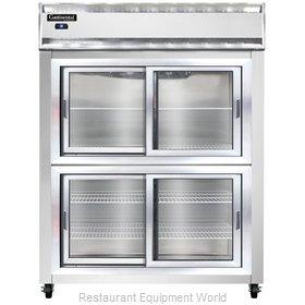 Continental Refrigerator 2RES-SS-SGD-HD Refrigerator, Reach-In