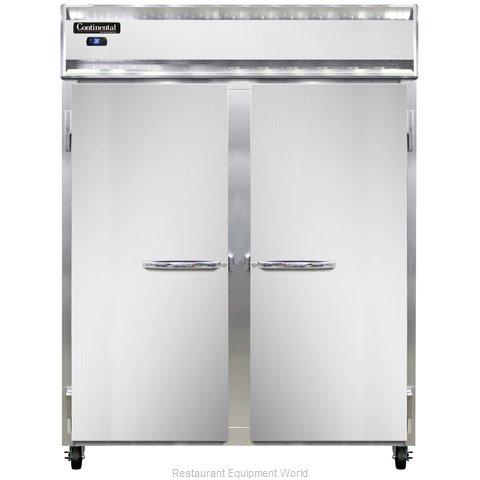 Continental Refrigerator 2RES-SS Refrigerator, Reach-In