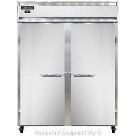 Continental Refrigerator 2RES-SS Refrigerator, Reach-In