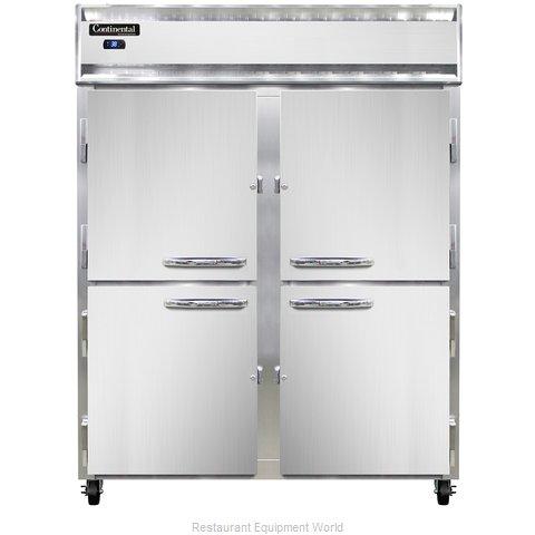 Continental Refrigerator 2RESNHD Refrigerator, Reach-In