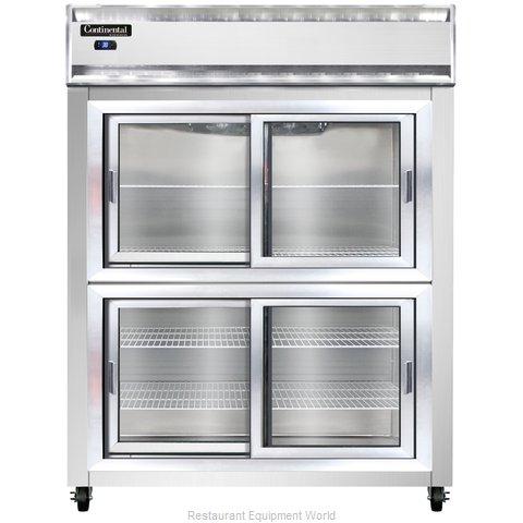 Continental Refrigerator 2RESNSASGDHD Refrigerator, Reach-In