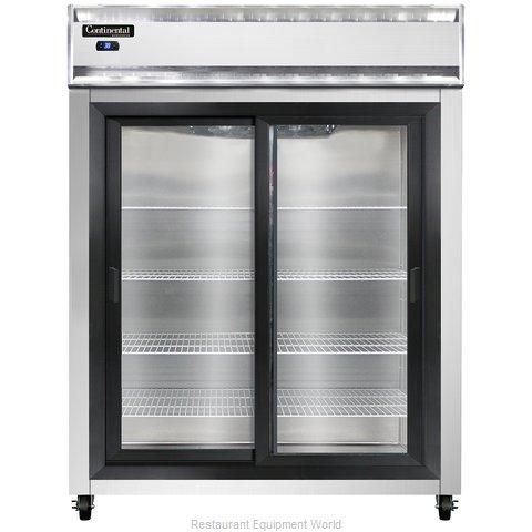 Continental Refrigerator 2RESNSGD Refrigerator, Reach-In