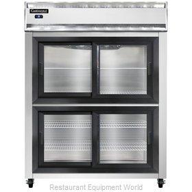 Continental Refrigerator 2RESNSGDHD Refrigerator, Reach-In
