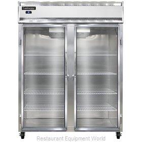 Continental Refrigerator 2RESNSSGD Refrigerator, Reach-In