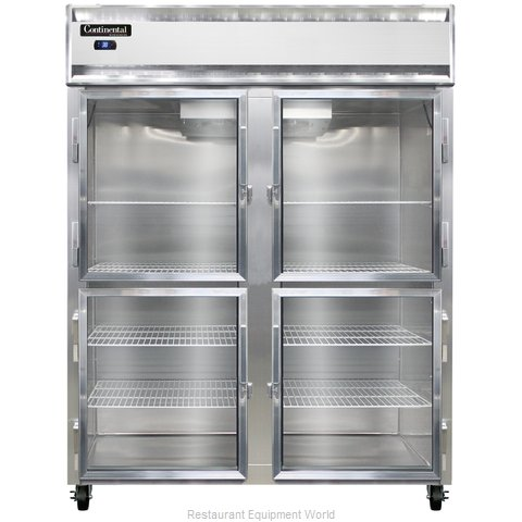Continental Refrigerator 2RESNSSGDHD Refrigerator, Reach-In
