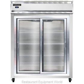 Continental Refrigerator 2RESNSSSGD Refrigerator, Reach-In