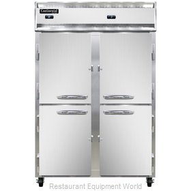 Continental Refrigerator 2RF-SS-HD Refrigerator Freezer, Reach-In