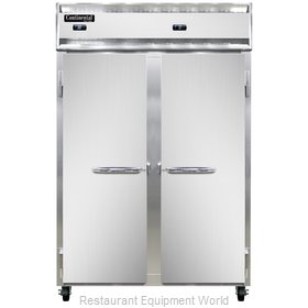 Continental Refrigerator 2RF-SS Refrigerator Freezer, Reach-In
