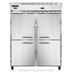 Continental Refrigerator 2RFE-SS-HD Refrigerator Freezer, Reach-In