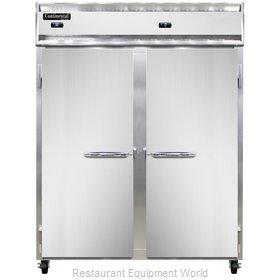 Continental Refrigerator 2RFE-SS Refrigerator Freezer, Reach-In