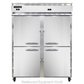Continental Refrigerator 2RFENSSHD Refrigerator Freezer, Reach-In