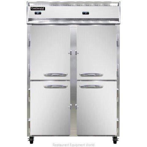 Continental Refrigerator 2RFNSAHD Refrigerator Freezer, Reach-In