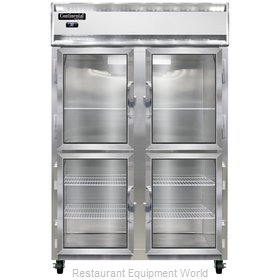 Continental Refrigerator 2RNGDHD Refrigerator, Reach-In