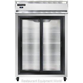 Continental Refrigerator 2RNSASGD Refrigerator, Reach-In
