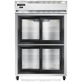 Continental Refrigerator 2RNSASGDHD Refrigerator, Reach-In