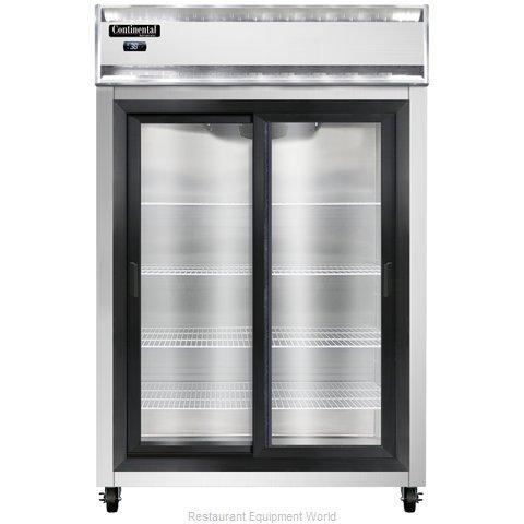 Continental Refrigerator 2RNSGD Refrigerator, Reach-In