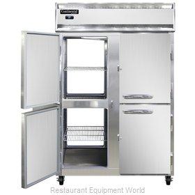 Continental Refrigerator 2RNSSPTHD Refrigerator, Pass-Thru