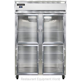 Continental Refrigerator 2RS-GD-HD Refrigerator, Reach-In