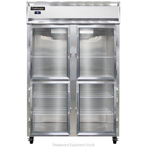 Continental Refrigerator 2RS-SA-GD-HD Refrigerator, Reach-In
