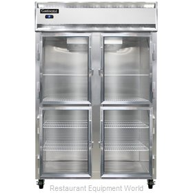 Continental Refrigerator 2RS-SA-GD-HD Refrigerator, Reach-In