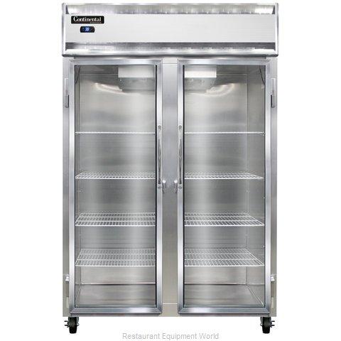 Continental Refrigerator 2RS-SA-GD Refrigerator, Reach-In