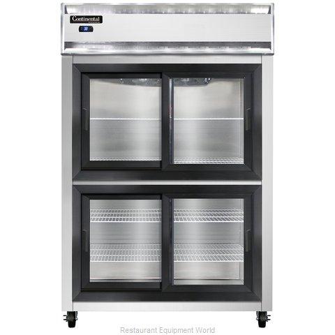 Continental Refrigerator 2RS-SGD-HD Refrigerator, Reach-In