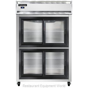Continental Refrigerator 2RS-SGD-HD Refrigerator, Reach-In