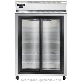 Continental Refrigerator 2RS-SGD Refrigerator, Reach-In